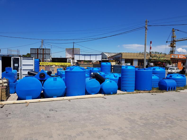 Емкость для воды Севастополь 27