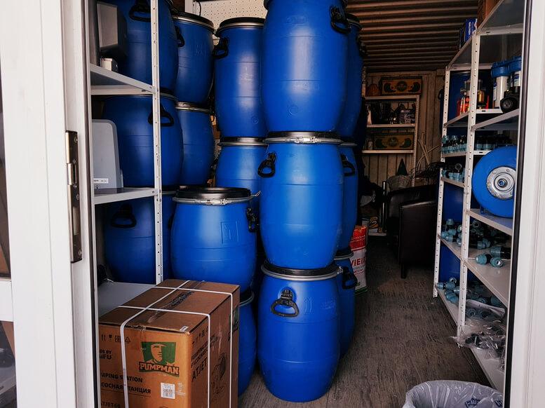 Бочки для воды евробочка Севастополь 6