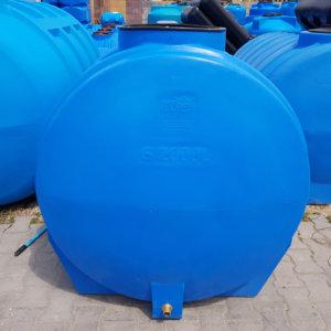 Емкость бак для воды G 2000 литров горизонтальная Гранд Пласт