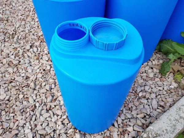 Емкость бак бочка для воды V 60 литров вертикальная КрымХимПласт
