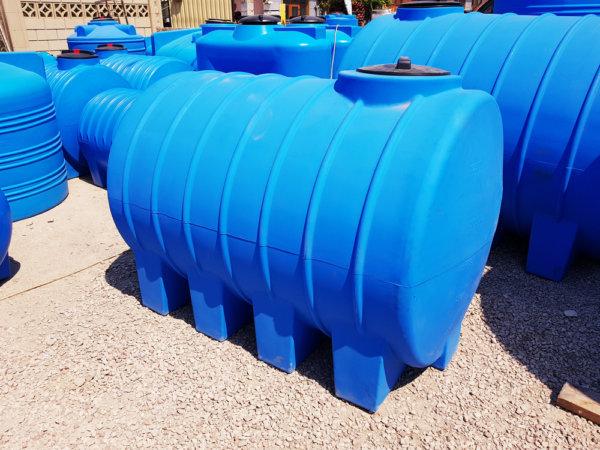 Емкость бак для воды G 1500 литров горизонтальная Гранд Пласт