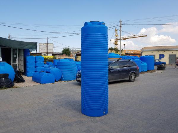 Емкость бак для воды V 1200 литров вертикальная Гранд Пласт