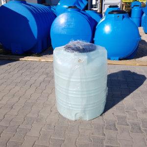 Емкость бак для воды V 250 литров белая вертикальная КрымХимПласт