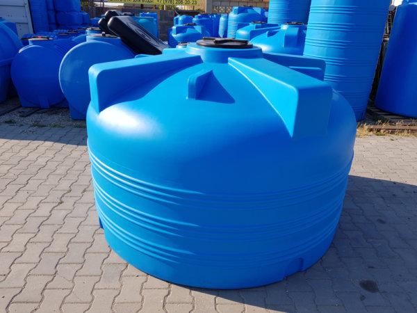 Емкость бак для воды V 3000 литров вертикальная КрымХимПласт
