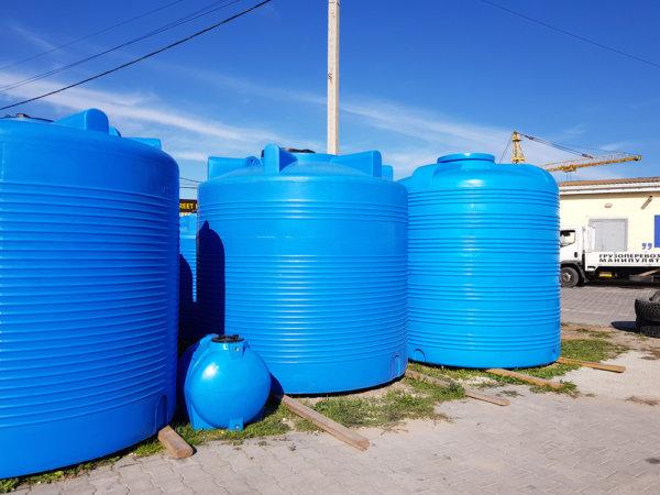 Емкость для воды V 8000 литров вертикальная Гранд Пласт