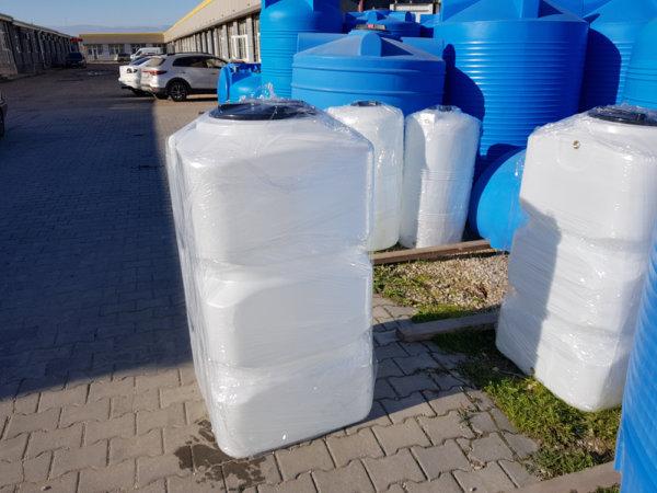 Емкость для воды BK 500 литров вертикальная Белая КрымХимПласт