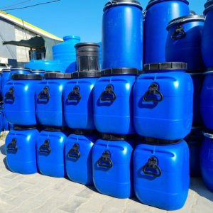 Бочка-бидон пластиковая 51 литр с крышкой купить Севастополь