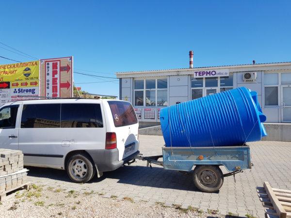 Емкость бак для воды V 2000 литров вертикальная Гранд Пласт