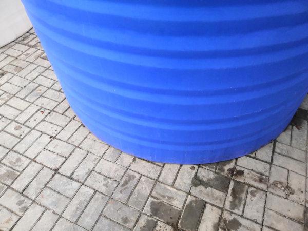 Емкость бак для воды V 6000 литров вертикальная низкая ТК Пласт