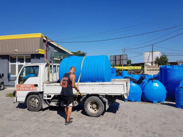 Емкость баки для воды G 3000 литров горизонтальная Гранд Пласт