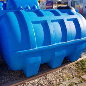 Емкость баки для воды G 3000 литров горизонтальная КрымХимПласт