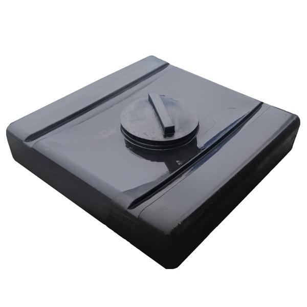Емкость для душа 100 литров чёрная Гранд Пласт