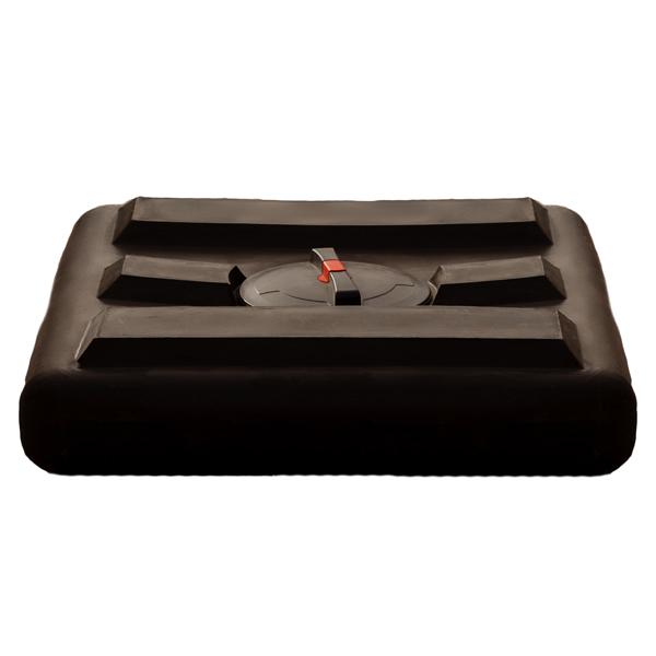 Емкость для душа 160 литров чёрная Гранд Пласт