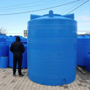 Емкость для воды 10 кубов 10 000 литров вертикальная Гранд Пласт