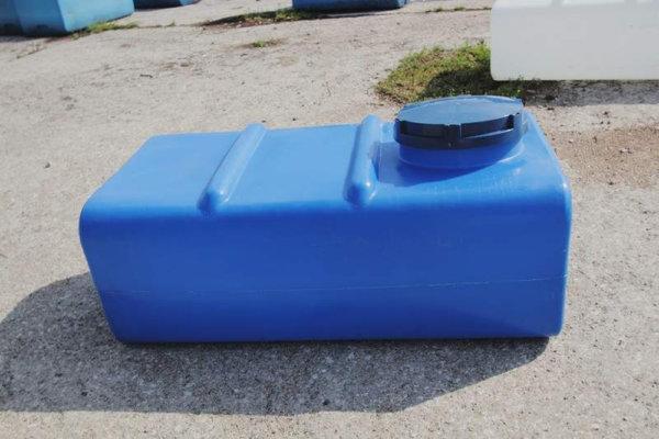 Емкость для воды 400 литров прямоугольная горизонтальная Байдар Пласт