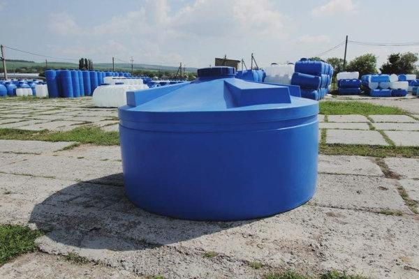 Емкость для воды 5 кубов вертикальная Низкая Байдар Пласт