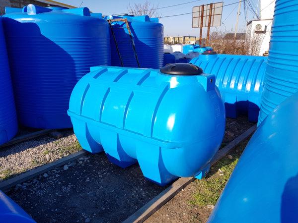 Емкость для воды G 2000 литров горизонтальная КрымХимПласт