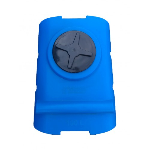 Емкость для воды SК 100 литров горизонтальная КрымХимПласт