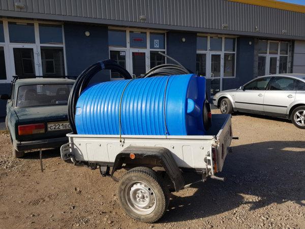 Емкость для воды V 1000 литров вертикальная Гранд Пласт