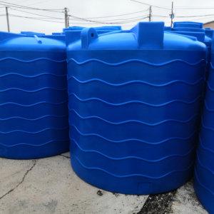 Емкость для воды V 4000 литров вертикальная Байда Пласт