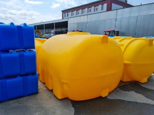 Транспортировочная емкость 5 кубов пищевая КрымХимПласт